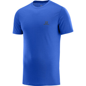 Salomon X Wool T-shirt Homme, nautical blue